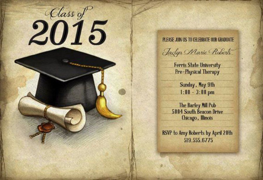40+ FREE Graduation Invitation Templates   Template Lab