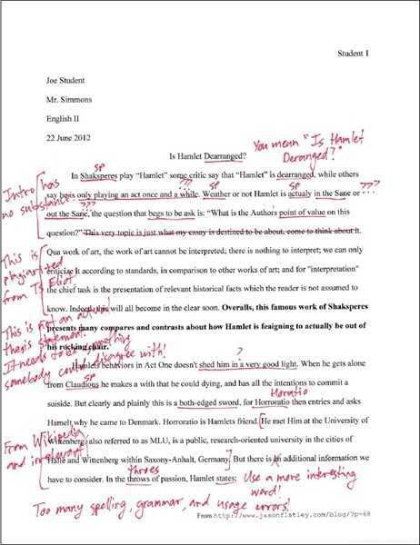 mla style format essay