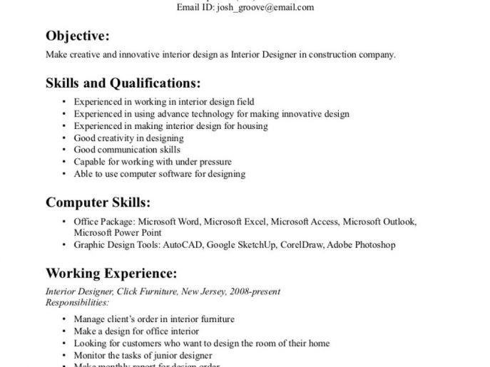 ☆▻ Office : 29 Interior Designer Resume Sample 24 Cover Letter ...