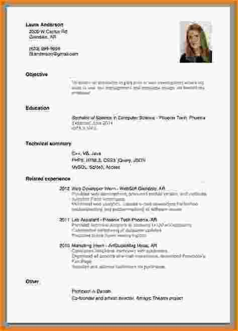 28+ Writing A Resume For A Job With No Experience | Resume For ...