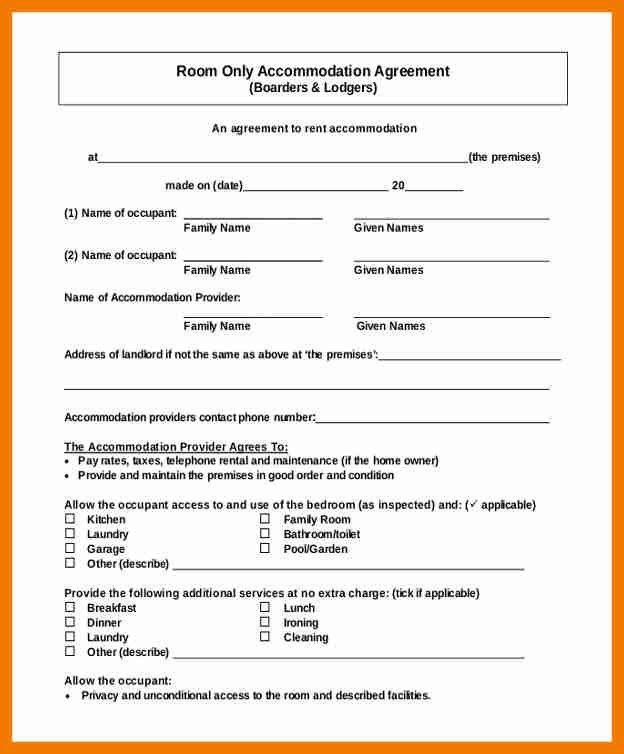 4+ room rent agreement format | resume holder