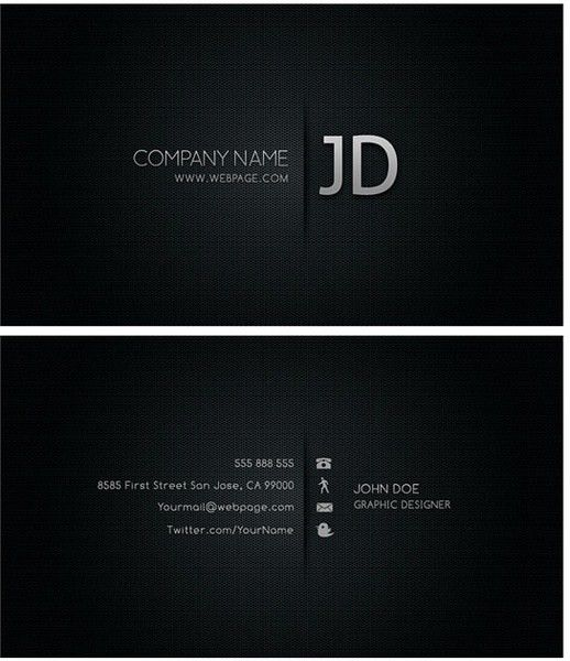 Photoshop business cards templates free psd download (418 Free psd ...