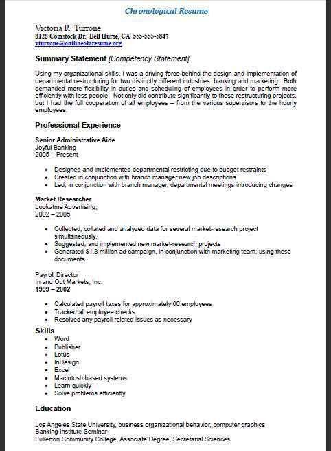 Download Outline Of A Resume   haadyaooverbayresort.com