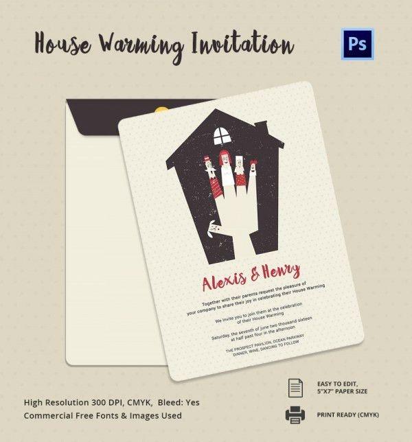 Housewarming Invitation Cards Designs | PaperInvite