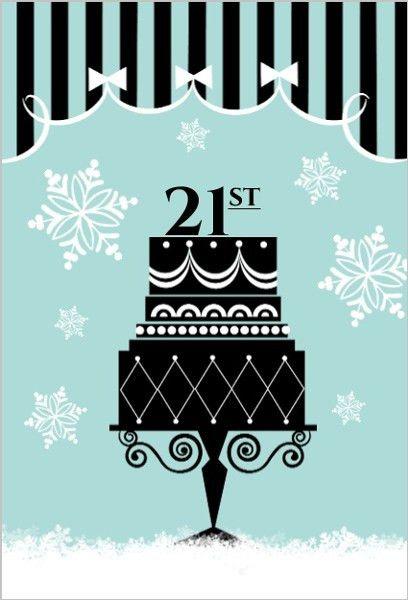 21st Birthday Invitations & 21st Birthday Invites