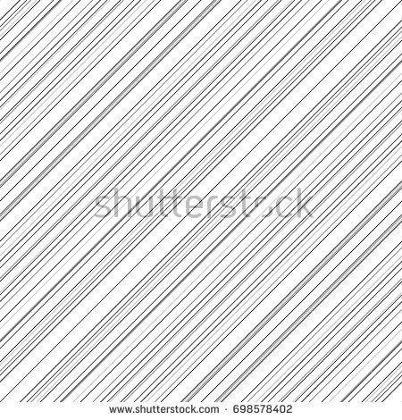 Simple Diagonal Striped Asymmetric Diagonal Lines Stock Vector ...