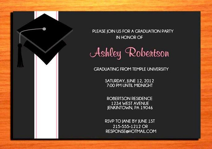 Graduate Invites: Elegant Graduation Invitations Templates Design ...