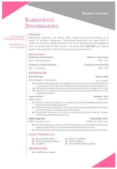 Modern Microsoft Word Resume Template Rahmawat by INKPOWER, $12.00 ...