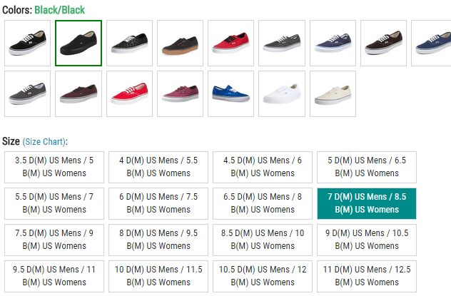 Vans Shoes Fit Guide – Finding the Perfect Size ...