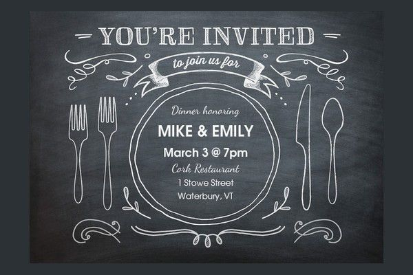dinner party invitations printable : Cogimbo.us