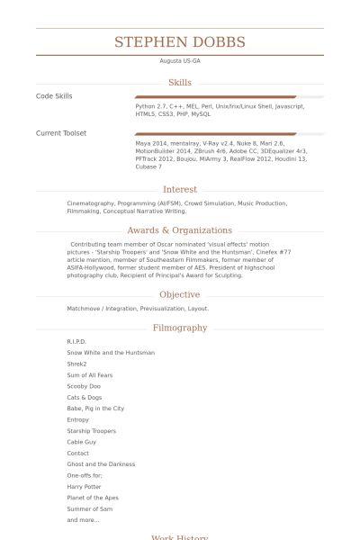 Diretor Técnico Exemplo CV - VisualCV retomar amostras de banco de ...