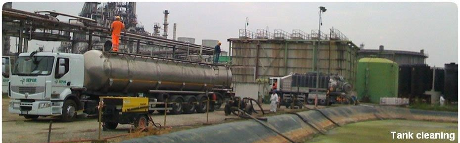 cleaning oil tank cleaning | SEPOR