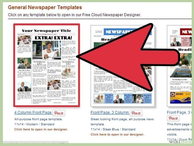 How to Make a Newspaper on Microsoft Word (with Pictures)