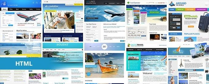 16 Free Travel HTML Website Templates | TemplateMag