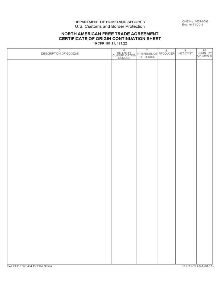 Certificate Of Origin Template Free Certificate Of Origin – Certificate of Origin Template Free