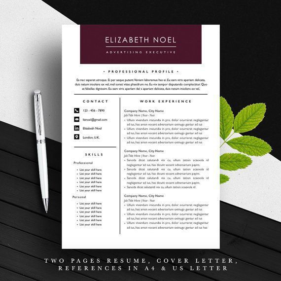 30 best Resume Templates images on Pinterest | Resume templates ...