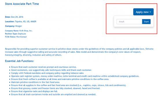 Kroger Job Application - Adobe PDF - Apply Online