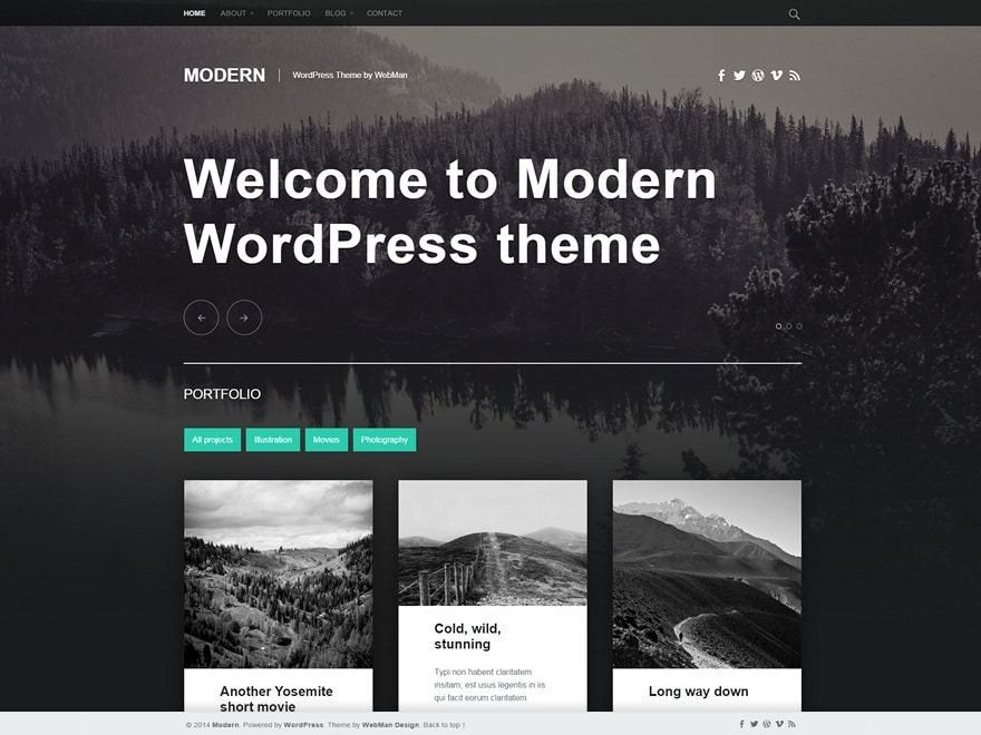 65+ Best Free Responsive WordPress Themes 2017 - aThemes