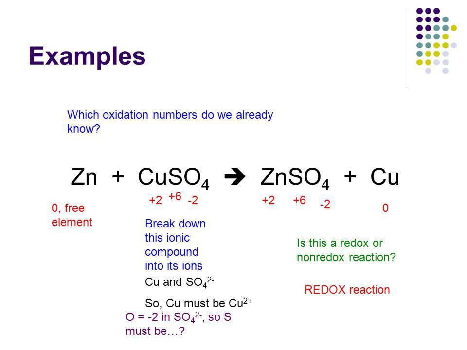 Redox Reactions Chapter 18 + O 2 . Oxidation-Reduction (Redox ...
