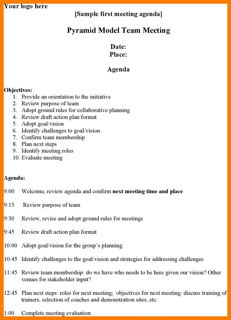 6+ meeting proposal template | park-attendant