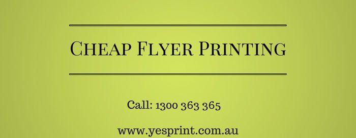 Discount Printing - YesPrint - Edavio