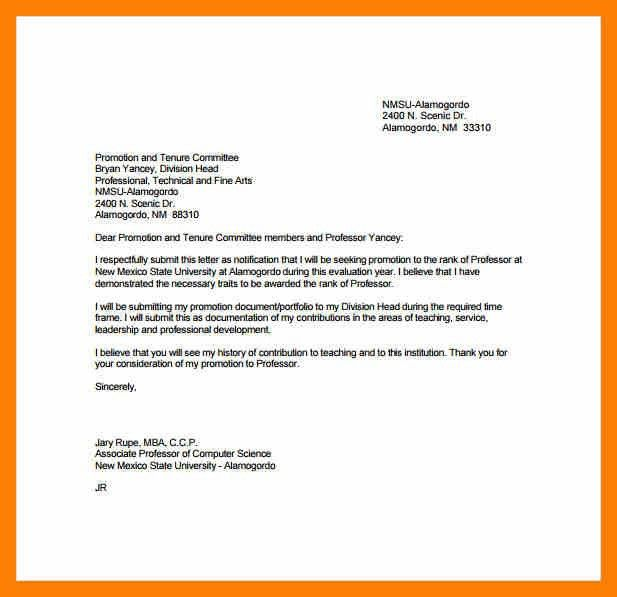Promotion Letter Sample. Promotion Letter Template 30+ Appraisal .