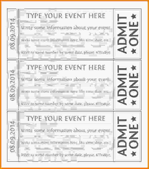Free Ticket Template.Event Ticket Templates.jpg - LetterHead ...