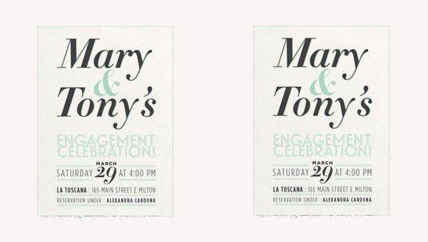 39+ Engagement Invitation Designs | Free & Premium Templates