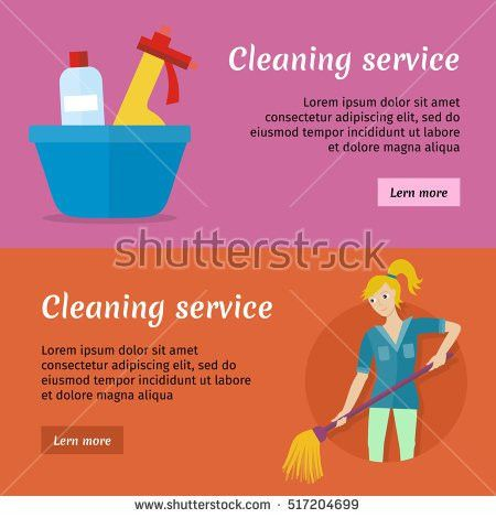 Cleaning Service Set Avatar Userpics Male Stock Vector 486479974 ...