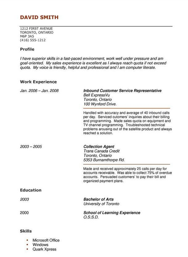High School Student Resume Example. High School Student Resume ...