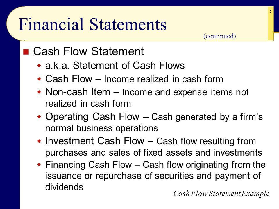 CHAPTER 17 CHAPTER 7, THIRD EDITION Projecting Cash Flow and ...