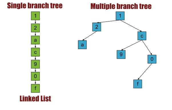 What is the difference between Binary Tree and Linked Lists? - Quora