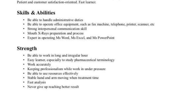 Medical Assistant Objective For A Resume Medical Assistant Resume ...