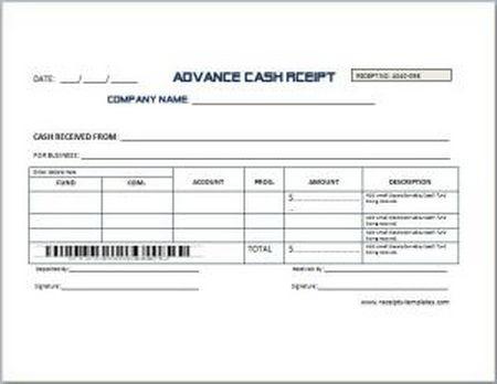 Advance-Cash-Receipt download | SourceForge.net