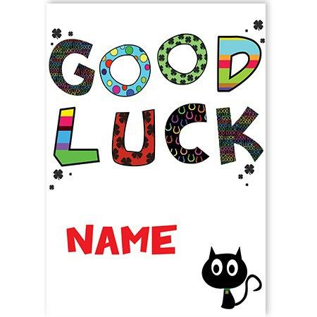Good Luck! - SpaceHippo.cards