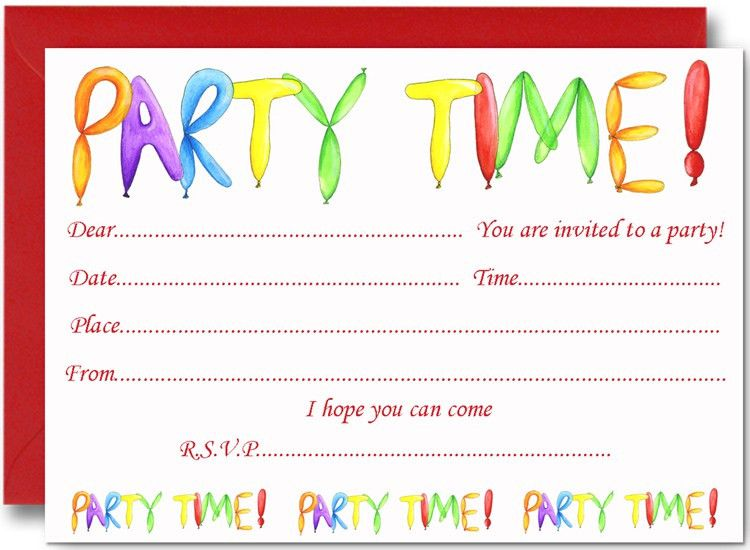 Baby Shower Invitations: Remarkable Birthday Party Invitations ...
