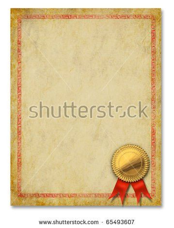Certificate Frame Diploma Award Backgrounds Blank Stock ...