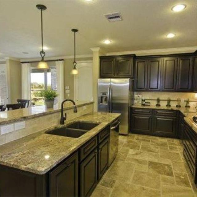 Large Kitchen Island Kitchen Island Seating And Long Kitchen On Pinterest