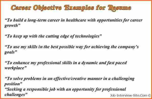 5+ what is career objective - Budget Template Letter