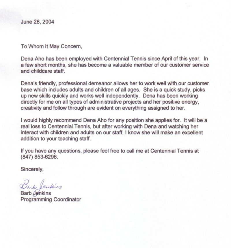 Requesting Recommendation Letter From Previous Employer - Shishita ...
