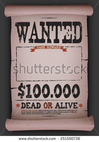 Reward Poster Stock Images, Royalty-Free Images & Vectors ...