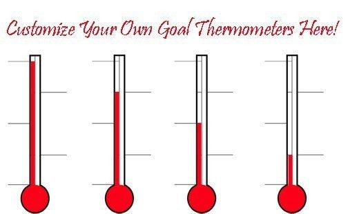 goal thermometer template - thebridgesummit.co