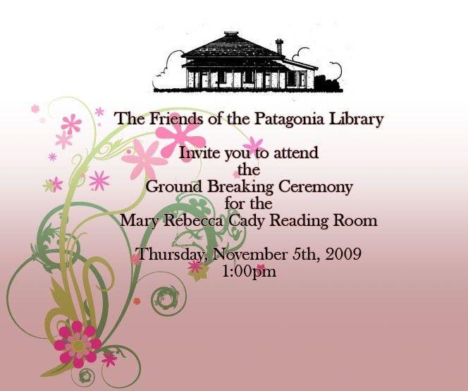 Groundbreaking Ceremony Invitation Sample | almsignatureevents.com
