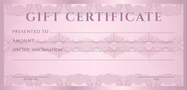 Gift Certificate (Voucher, Coupon) Template Stock Photos - Image ...