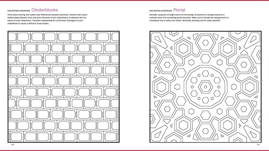 The Quilt Design Coloring Workbook - Storey Publishing