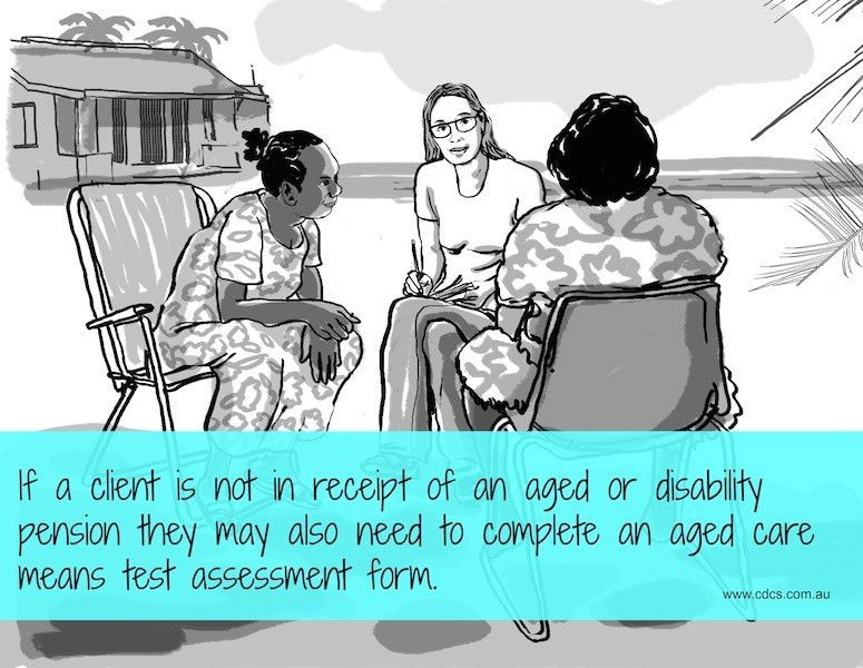 The aged care means test assessment in remote communities - CDCS ...