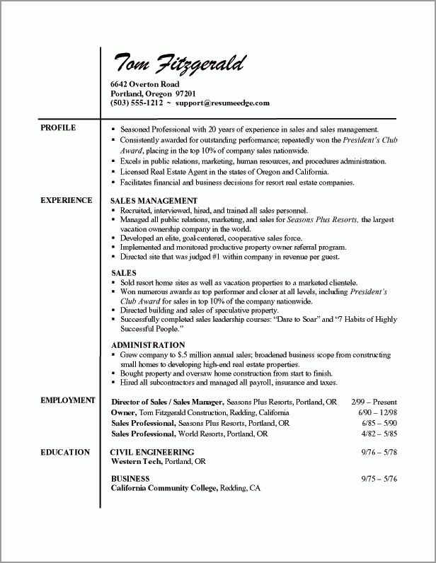 Resume Examples It Professional | haadyaooverbayresort.com
