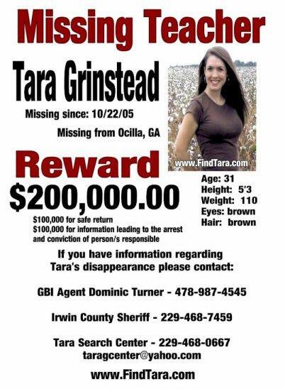 Tara Grinstead – Ocilla, GA : Missing People Help