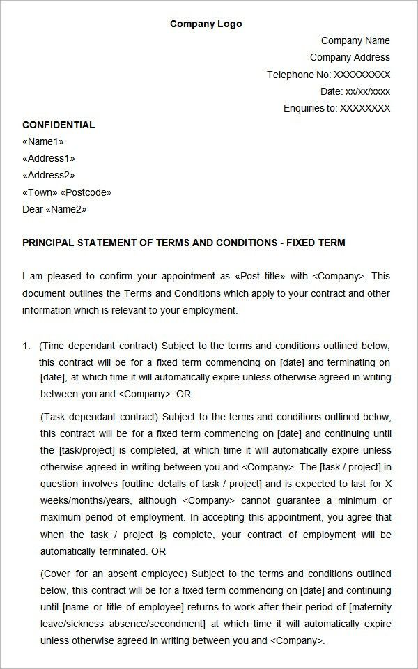 Seo Contract Template. Land Contract Template 13+ Contract ...
