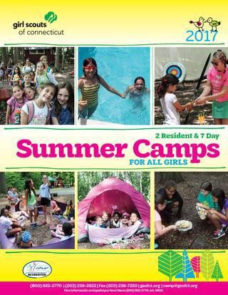GSOFCT 2017 Summer Camps by Girl Scouts of Connecticut - issuu